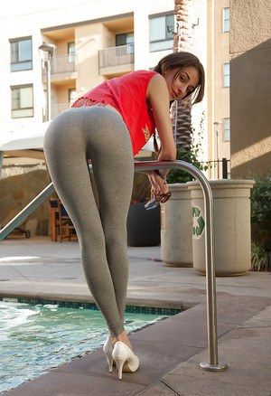 Ass In Spandex Pics 41